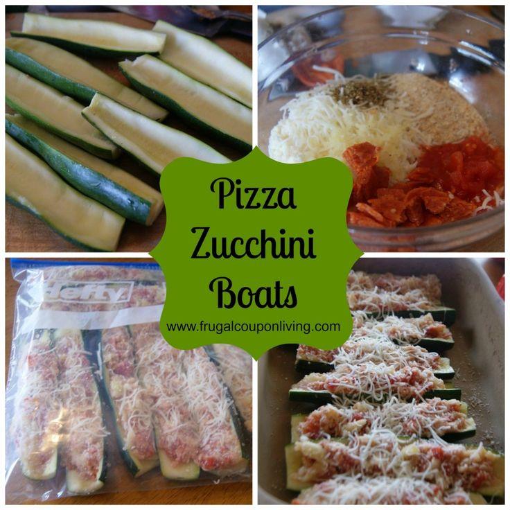 Pizza Zucchini Boats Recipe