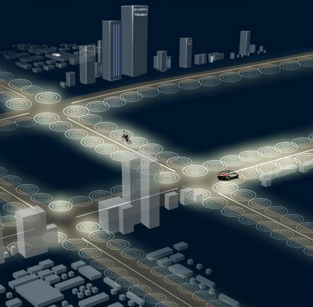 Tvilight- Smart Streetlights – intelligent dynamic street lighting, for great economy and a solution against the light pollution problem, increasing dramatically globally.