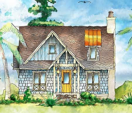 Plan 26683gg shingle style itty bitty cottage home for Shingle style cottage
