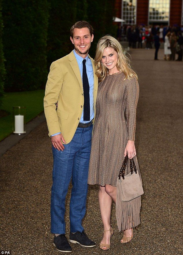 Alice Eve puts joins husband Alex Cowper-Smith at pre-Wimbledon party | Daily Mail Online