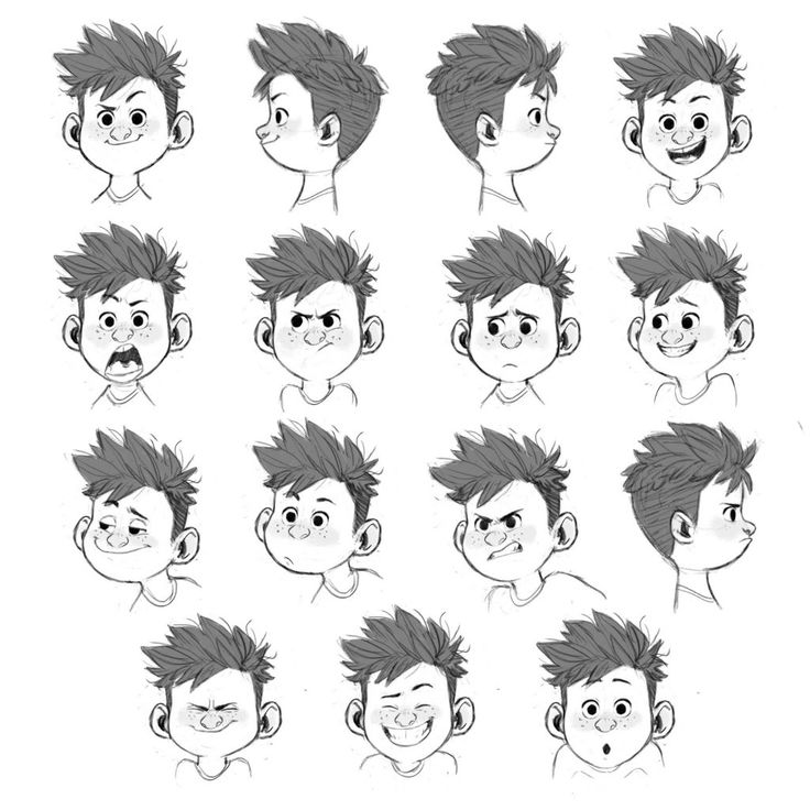 Character Design Expression : Best images about facial refrences expressions on