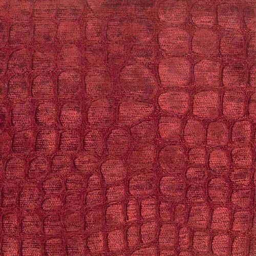 Hook Merlot Crocodlile Chenille Home Decorating Fabric;