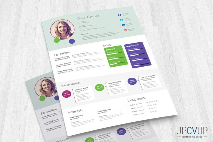 77 best modern and innovative professional resumes    cv