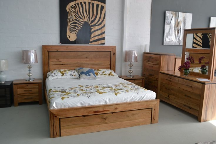Bunbury Marri Timber Queen Bed bedroom trends