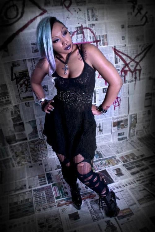 Black Fashion By Javii: My Gothic issues. - AFRO-PUNK