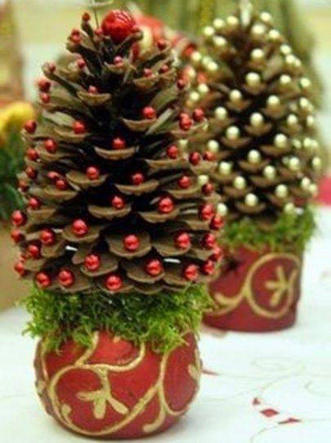 """Képtalálat a következőre: """"karácsonyi díszek tobozból"""""""