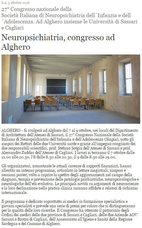 Algheroeco.it, 5 ottobre 2016 #sononostriospiti #DADU