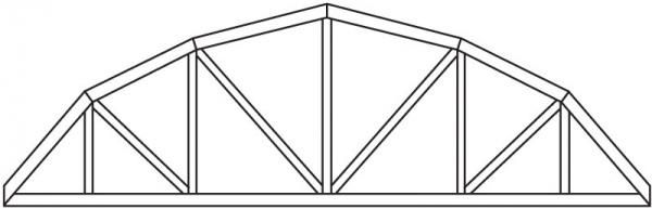 Utah Roofing Supplies & Trusses | Sunroc Building Materials - Bowstring Truss