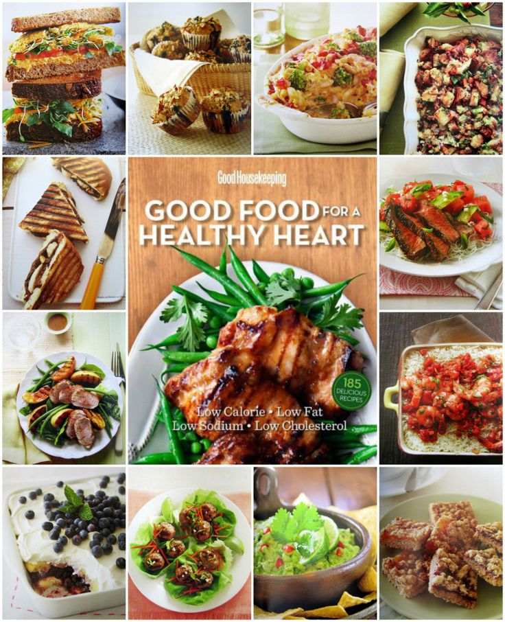 Good Housekeeping Good Food for a Healthy Heart | Home is Where the Boat Is #cookbook