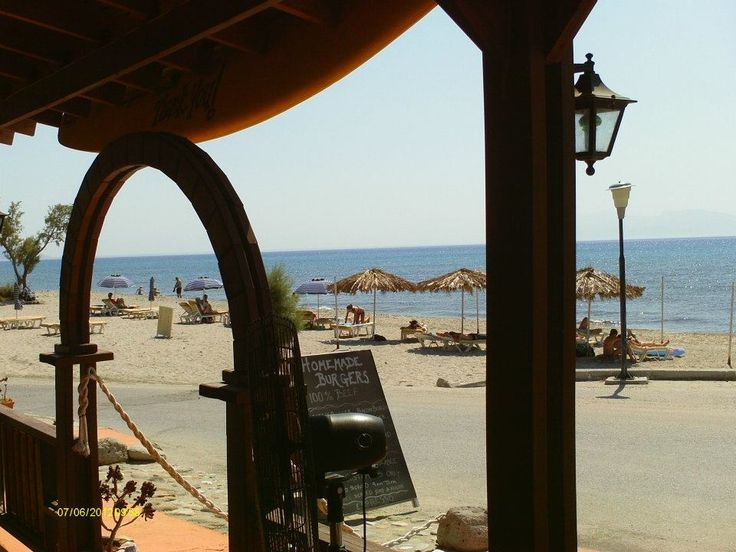 Banana Beach in Kardamena run by British owners is an ideal place to spend your day relaxing on the beach or enjoying a drink or snack from the bar! http://www.kosexplorer.com/place/banana-beach-cafe-bar-reviews