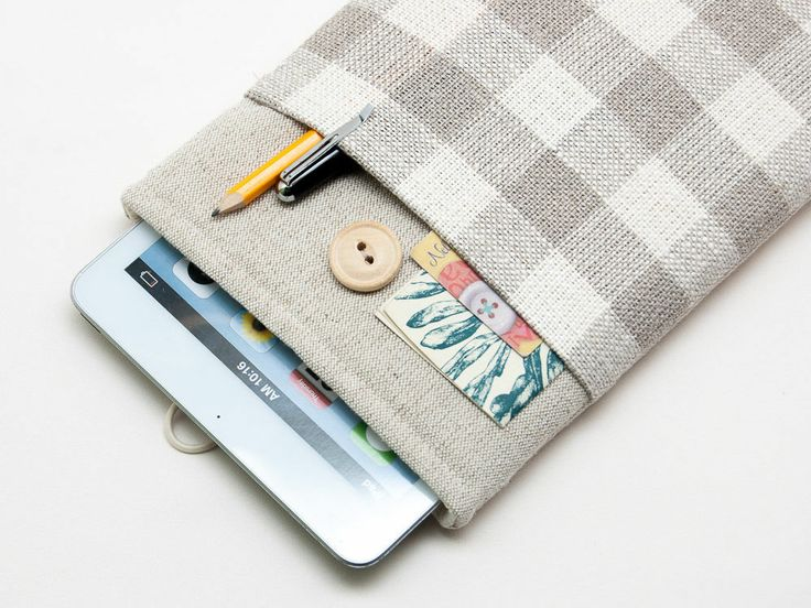 Google nexus 10 case cover sleeve. Samsung galaxy tab 3 pouch. Handmade linen