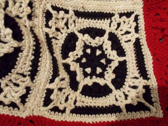 As You like It Afghan a unique crochet by RainbowBirdCrochet
