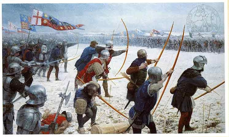 "The Battle of Towton was fought during the Wars of the Roses on 29 March 1461, in Yorkshire. It was the ""largest and bloodiest battle ever fought on English soil"". More than 50,000 soldiers from the Houses of York and Lancaster fought for hours in a snowstorm, which was Palm Sunday. A newsletter reported that 28,000. The engagement brought about a change in England—Edward IV displaced Henry VI as King of England, driving the head of the Lancastrians and his key supporters out of the country."