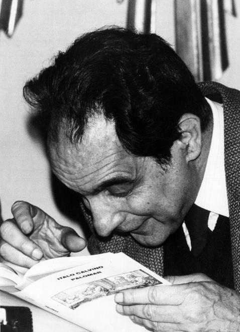Italo #Calvino legge il suo romanzo #Palomar