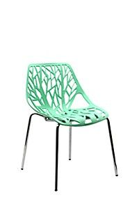 MOULDED PLASTIC TREE CHAIR