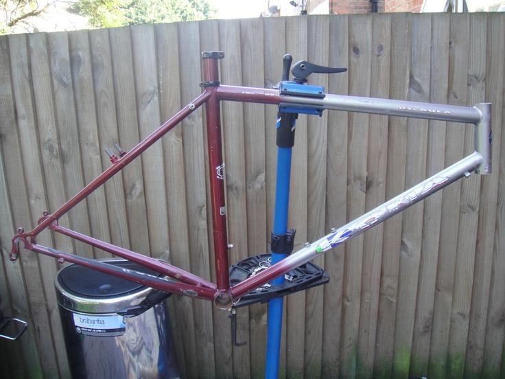 #1992 Kona Kilauea retro mountain bike frame Like, Repin, Share, Follow Me! Thanks!