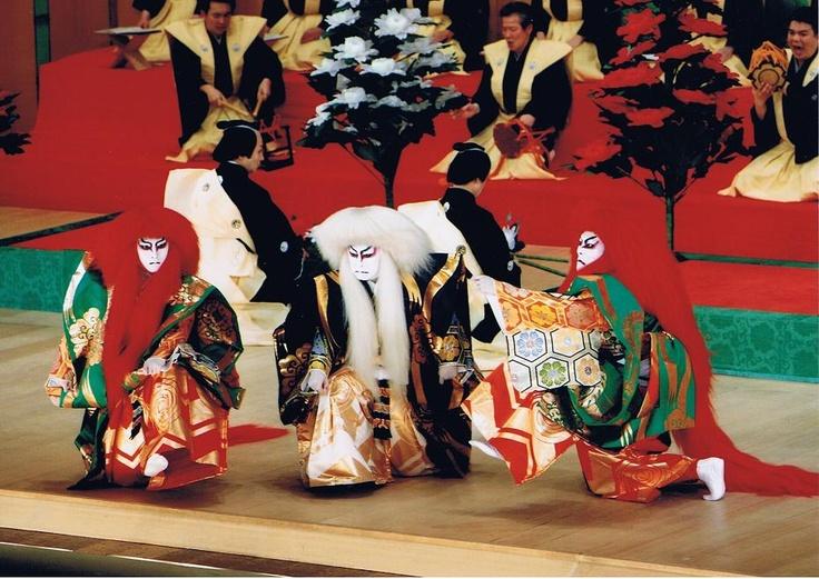 The Nakamura family in Kabuki. I am a great fan of them.