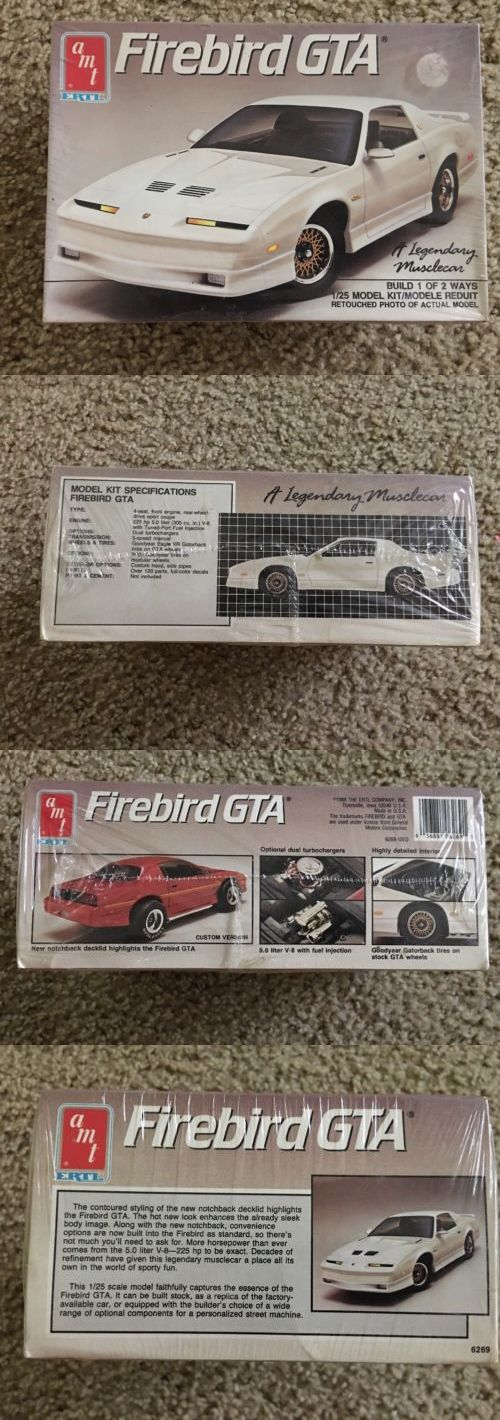 Classic 2581: 1988 Firebird Gta Trans Am Ws6 Sealed Tpi Usa Made Notch Back 88 89 90 Amt -> BUY IT NOW ONLY: $40 on eBay!