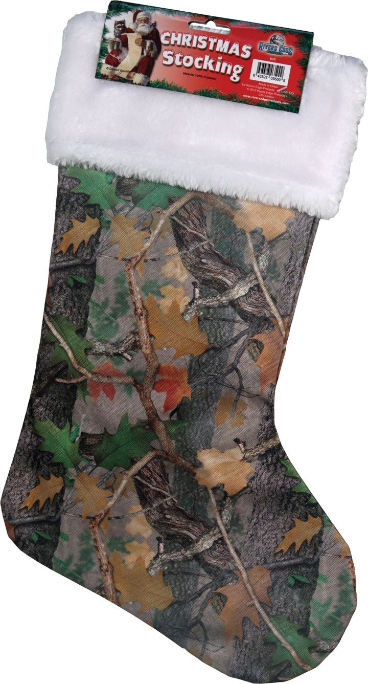 Fall Transitions Camouflage Christmas Stocking Western Christmaschristmas  Décorchristmas