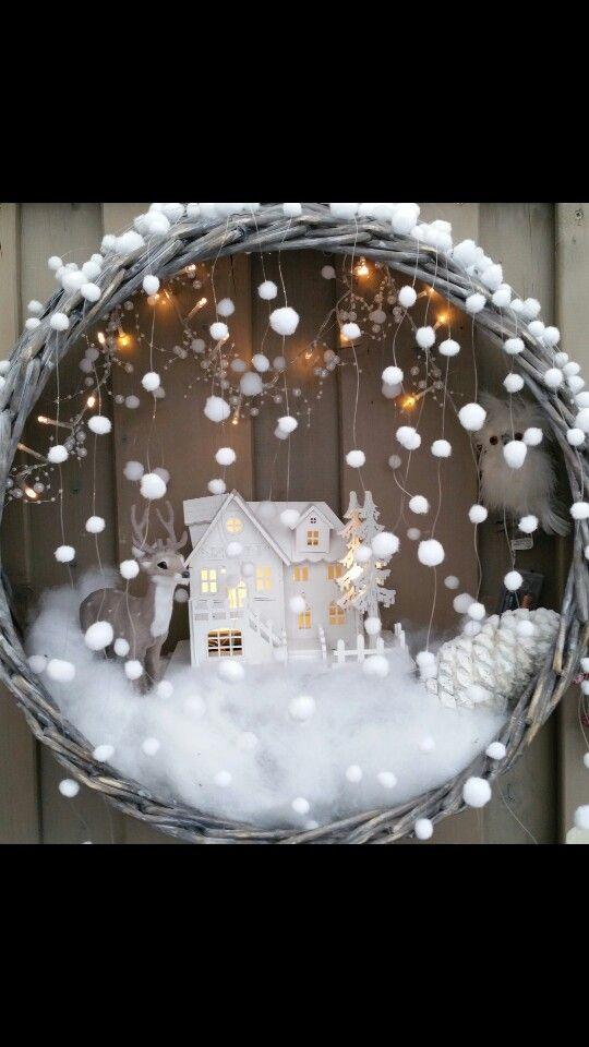 Doe eens iets anders met de kerstboom mand  !!      Doe eens iets anders met de kerstboom mand,  hang hem aan de muur