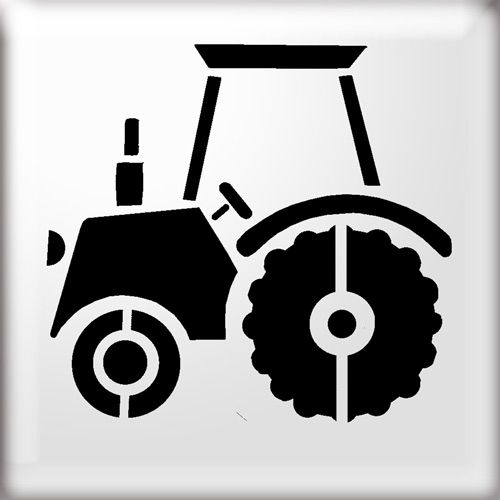 Tractor Silhouette Clipart Free Clip Art Images Freezer