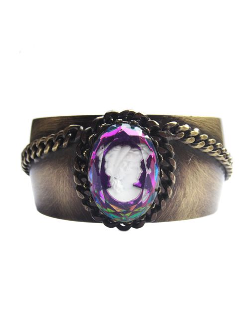 Disco Cameo Bangle