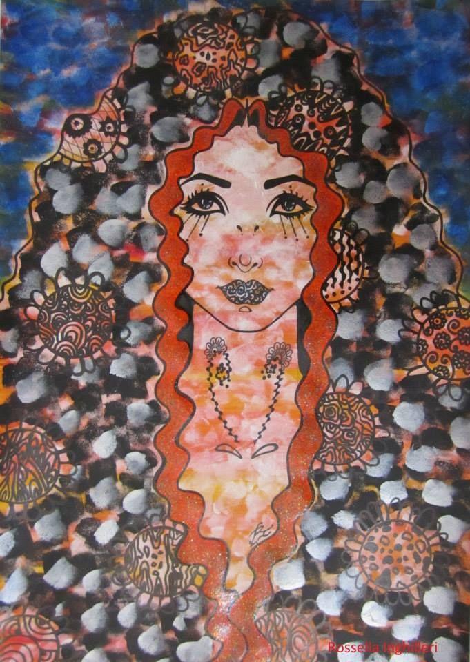 """Fabiola"" Rossella Inghilleri Artist"