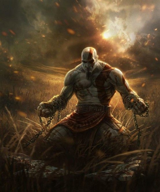 I never really liked bloody games but Kratos is just... awesome.