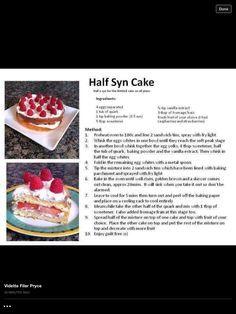Half a syn cake :)