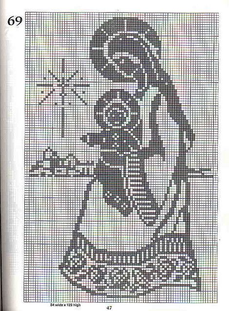 101 Filet Crochet Charts 47 by Suzana16, via Flickr