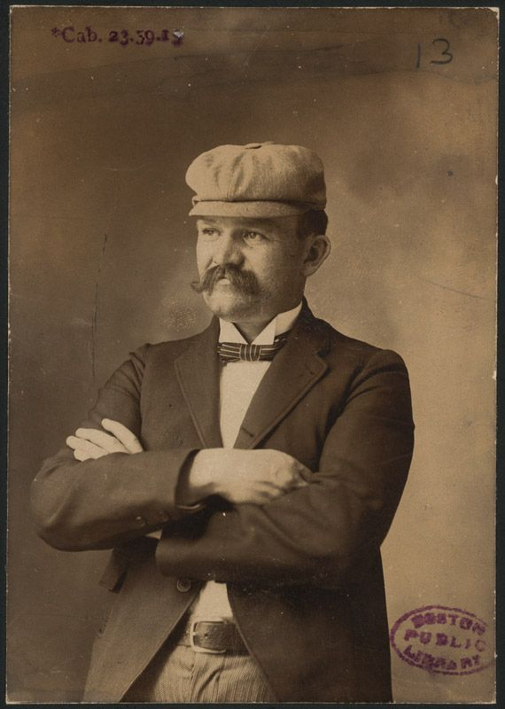 19. Michael T. McGreevey, owner of photo collection and Boston baseball fan | 27 Photographs Of Turn Of The Century Boston Baseball