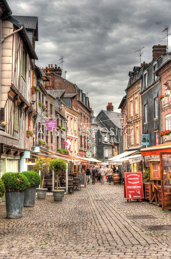 Honfleur, Normandy France, French Travel Photography, 8x10, 11x14, 16x24, 20x30, Home Decor, Photography