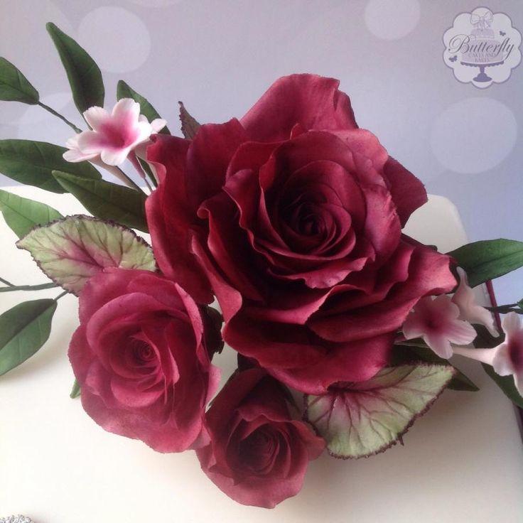 234 Best Sugar Flowers Images On Pinterest