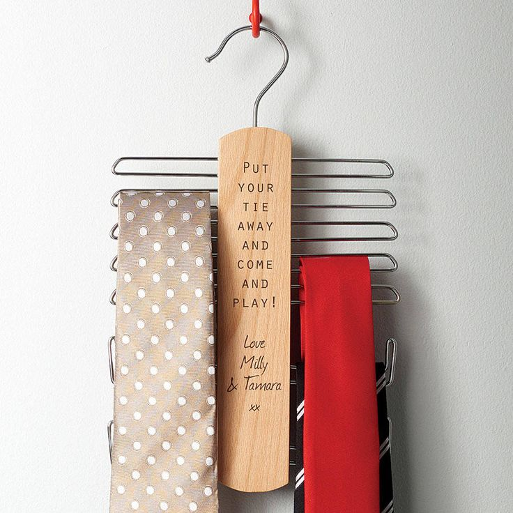 Use a tie-rack to hang camisoles and tank tops