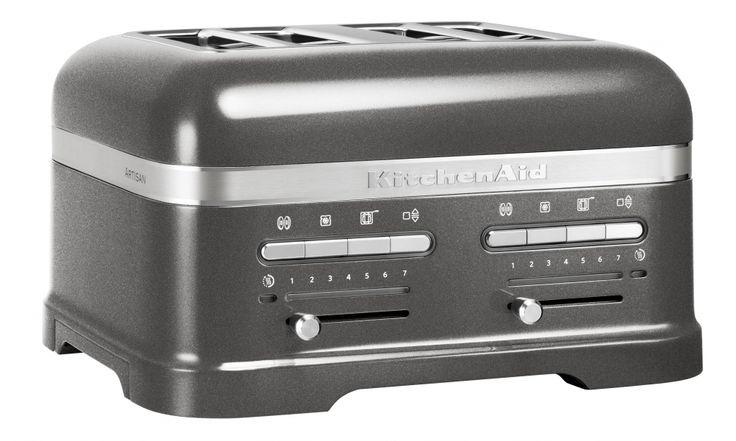 KitchenAid Artisan 4-skivors Brödrost Grafit Metallic. Agge vill att vi ska köpa denna... Närmare 5000 kr kostar den