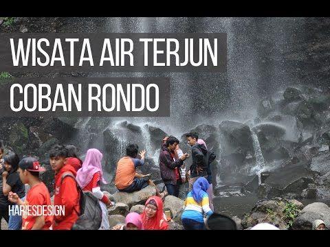 Wisata air terjun Coban Rondo Malang  hariesdesign.com
