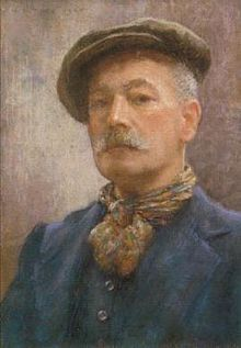 Henry Scott Tuke -His most notable work was in the Impressionist style, and he is probably best known for his paintings of nude boys and young men.He was born into a Quaker family in Lawrence Street in York.  Wikipedia, the free encyclopedia