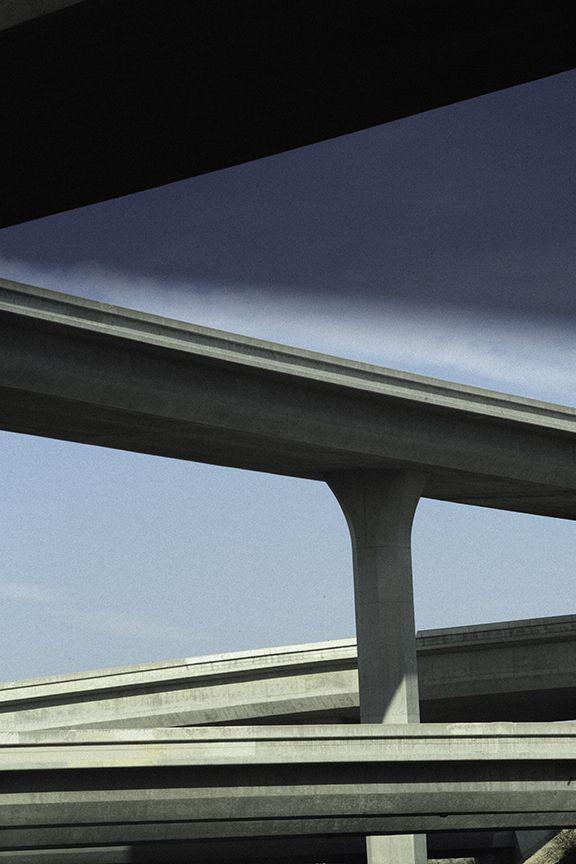 Ralph Gibson - Vertical-Horizon_Freeway-Diagonals
