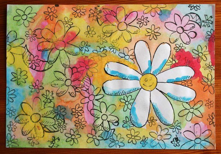 jaro výtvarná výchova - Hledat Googlem