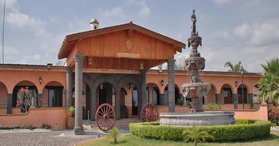 Hacienda Tres Vidas en Queretaro.