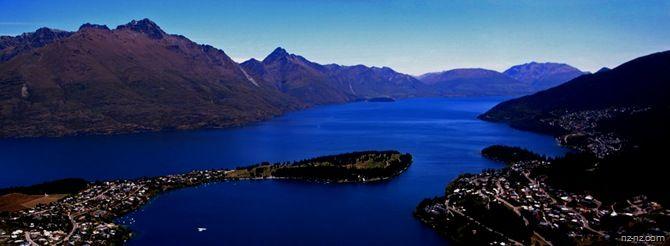 Город–курорт Квинстаун, Новая Зеландия - Путешествия по Новой Зеландии | Путешествия по Новой Зеландии