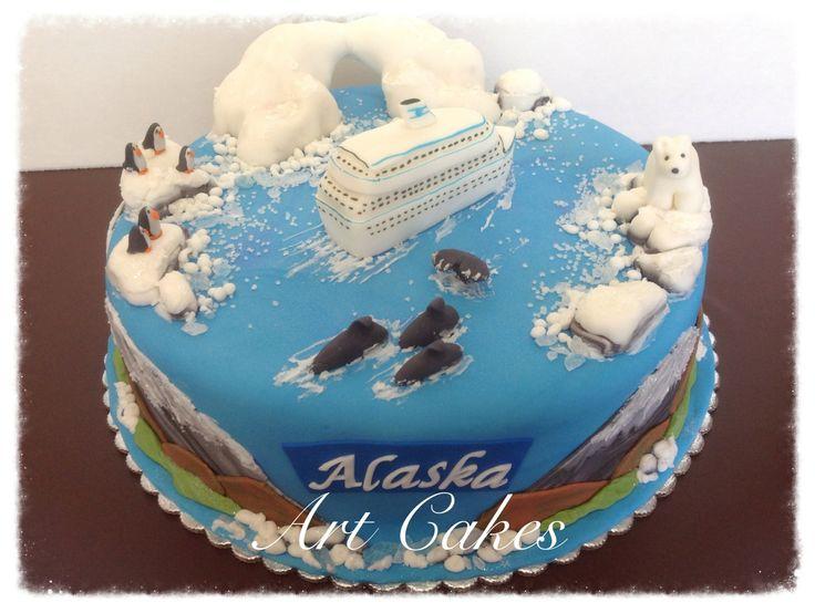 Alaska Cruise Cake | My Cakes | Pinterest | Alaska cruise ...