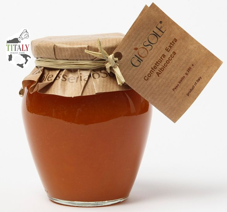 "APRICOT JAM   This delicious and fragrant extra jam Apricots ""Pellecchiella"" is particularly suitable for breakfast or for the preparation of pies."