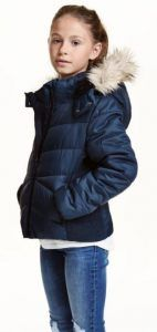hm-mpoufan-koritsi Jacket H & M (8-14 + years)