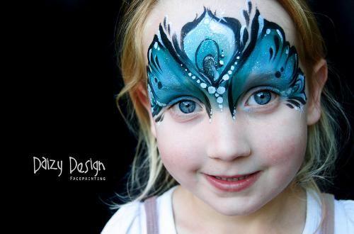 Trucco per viso - Farfalla