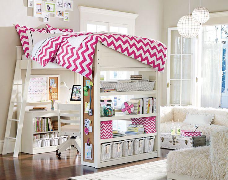 Best 25 girl loft beds ideas on pinterest loft bed - Bedroom furniture for teen girls ...