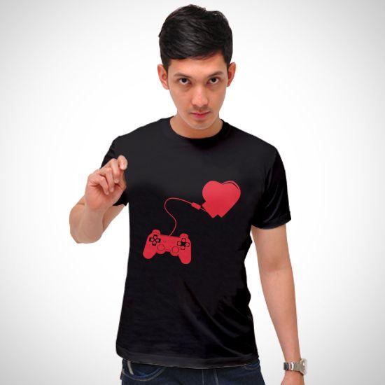 Gaming Heart dari Tees.co.id oleh Bang New