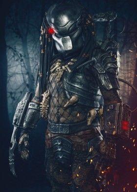 predator hunter movie photography digital art