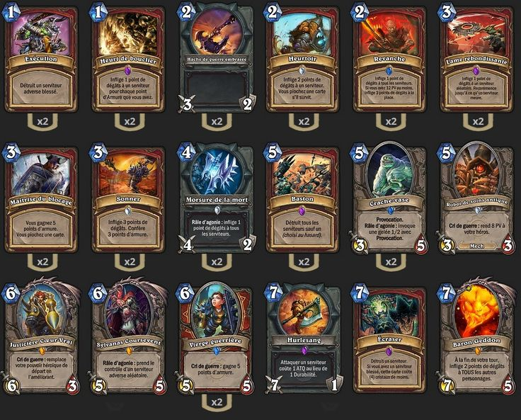 Deck Guerrier Fatigue de Amaz