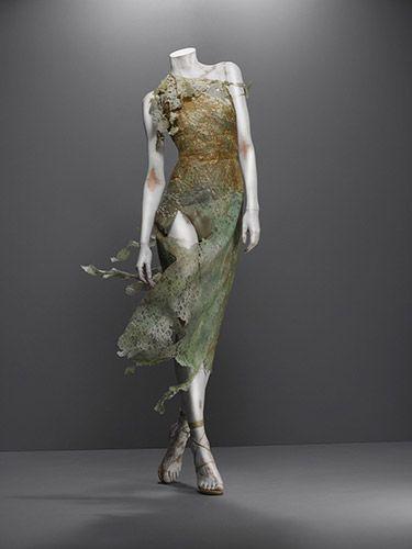 Dress, Highland Rape, autumn/winter 1995–96 | Alexander McQueen: Savage Beauty | The Metropolitan Museum of Art, New York
